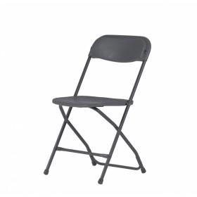 Επαγγελματική πτυσσόμενη καρέκλα μεταλλική Zown Alex Chair Grey