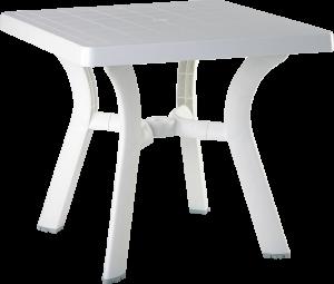 Πλαστικό Τραπέζι φαγητού Siesta Viva Λευκό