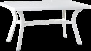 Πλαστικό Τραπέζι φαγητού Siesta Roma Λευκό