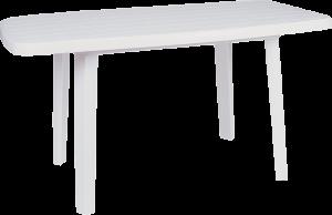 Πλαστικό Τραπέζι φαγητού Siesta 187 Λευκό