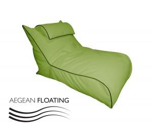 Ξαπλώστρα Πουφ αδιάβροχη για πισίνα Como Floating
