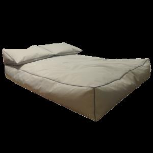 Πουφ Διπλό κρεβάτι αδιάβροχο για παραλία Sunbed Sunbrella