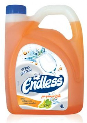 Υγρό πιάτων Endless Ultra Vinegar 4L