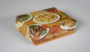 Κουτί ψητοπωλείου με αλουμίνιο Διπλής Πατάτας το κιλό