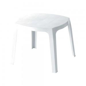 Χαμηλό πλαστικό Τραπέζι Oscar Λευκό