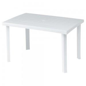 Πλαστικό Τραπέζι φαγητού Calaf 120x80cm Λευκό