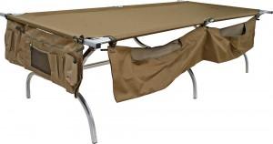 Κρεβάτι Εκστρατείας Πτυσσόμενο Αλουμινίου Escape Oversize 214x99cm - Max 150kg