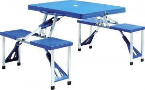 Πτυσσόμενο τραπέζι βαλίτσα με 4 καθίσματα