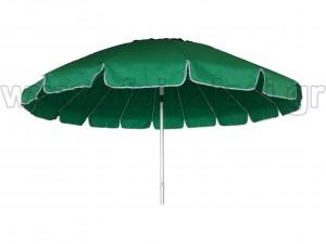 Ομπρέλα παραλίας αλουμινίου Πράσινη Ø2,4m - 1517