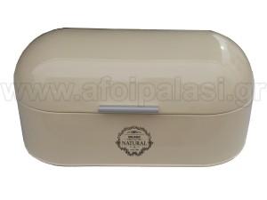 Μεταλλική ψωμιέρα Oval Natural