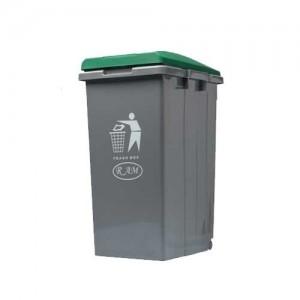 Κάδος απορριμάτων - ανακύκλωσης Ram 45lt Πράσινο