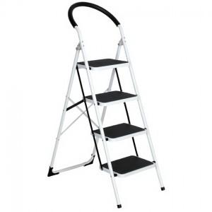 Μεταλλική σκάλα Delux με 4 σκαλιά