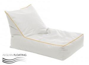 Ξαπλώστρα Πουφ αδιάβροχη για πισίνα Bingo B Floating