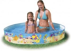 Παιδική πισίνα με σταθερά τοιχώματα Beach Days Intex 56451