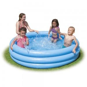Φουσκωτή παιδική πισίνα Ø168cm Intex Crystal Blue 58446