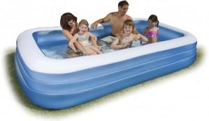 Φουσκωτή παιδική πισίνα 300 x 180cm Intex Family Swim Center 58484