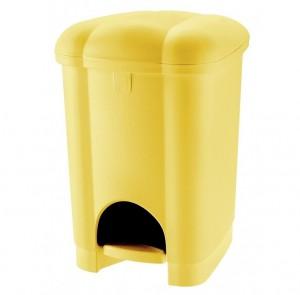 Κάδος απορριμμάτων WC με πεντάλ Tontarelli Carolina 16lt - σε 3 χρώματα