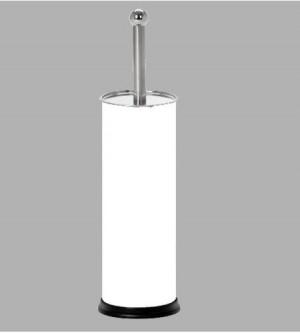 Μεταλλικό Πιγκάλ τουαλέτας Λευκό-Inox