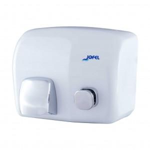 Μεταλλικός στεγνωτήρας χεριών Jofel Iberto white AA93000