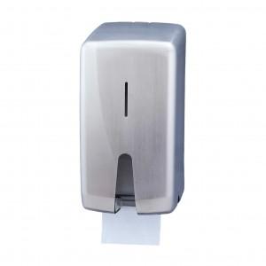 Μεταλλική θήκη οικιακών ρολών υγείας Jofel Futura Satin inox AF55000
