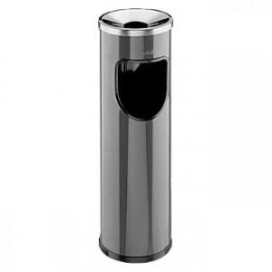 Σταχτοδοχείο - Τασάκι δαπέδου με κάδο Jofel 20lt - Μαύρο