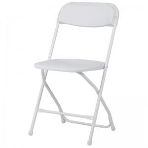 Επαγγελματική πτυσσόμενη καρέκλα μεταλλική Zown Alex Chair White