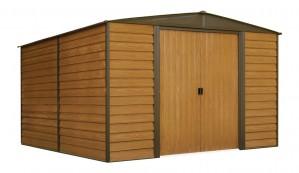 Αποθήκη Κήπου Μεταλλική Arrow Woodridge 10x12