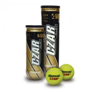 Μπαλάκια τένις κονσέρβα Nassau Czar Plus