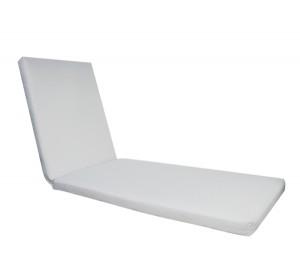 Μαξιλάρι ξαπλώστρας Sunlounger PVC Λευκό E2017,1