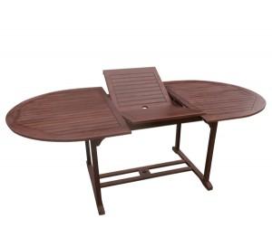 Ξύλινο πτυσσόμενο τραπέζι κήπου Acacia Garden 150