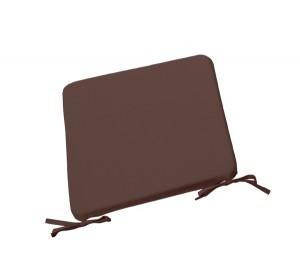 Μαξιλάρι Chair για κάθισμα 42x42cm σε χρώμα Καφέ