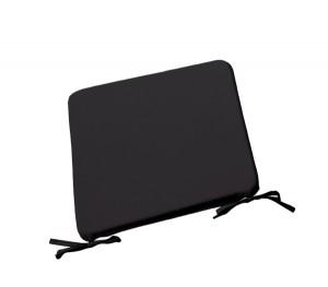 Μαξιλάρι Chair για κάθισμα 42x42cm σε χρώμα Μαύρο