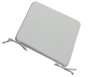 Μαξιλάρι Stool για κάθισμα 39x39cm σε χρώμα Ανοικτό Γκρι