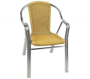 Καρέκλα αλουμινίου Polo Μπεζ