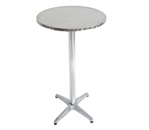 Τραπέζι αλουμινίου Palma Στρογγυλό Ø60cm ύψος 110cm