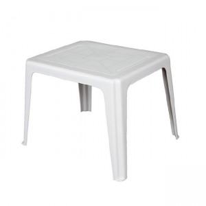 Χαμηλό πλαστικό Τραπέζι Elba Λευκό