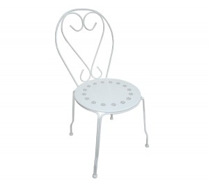 Μεταλλική καρέκλα Bistro Λευκή