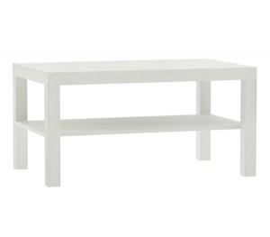 Μακρόστενο τραπέζι σαλονιού 90x50cm Decon Λευκό