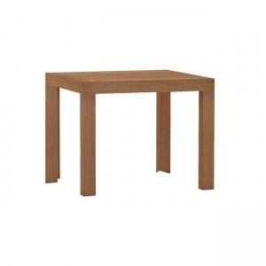 Τετράγωνο τραπέζι σαλονιού 55x55cm Decon Κερασί