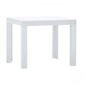Τετράγωνο τραπέζι σαλονιού 55x55cm Decon Λευκό