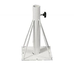 Βάση ομπρέλας δαπέδου για ιστούς Ø48mm - E934