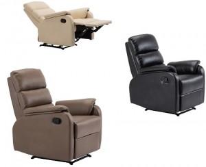 Πολυθρόνα Relax COMFORT E9732 - σε 3 χρώματα