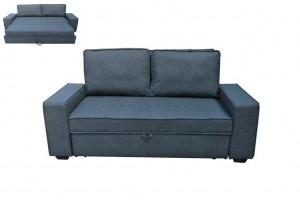Καναπές κρεβάτι Alison ανθρακί
