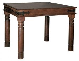 Παραδοσιακό τραπέζι Ostia χωρίς συρτάρι 80x80cm