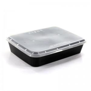 Δοχείο μερίδας Microwave 1200ml συσκευασία 50τμχ