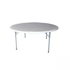 Πτυσσόμενο τραπέζι βαλίτσα Zita Catering fold Ø153cm
