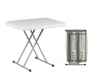 Πτυσσόμενο πλαστικό τραπέζι 75x50cm