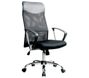 Πολυθρόνα Διευθυντή με μεταλλικό πόδι BF2400 Black