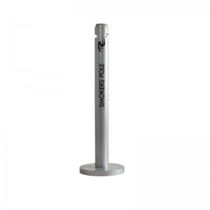Σταχτοδοχείο δαπέδου Rubbermaid Infinity Smokers Pole R1 Silver