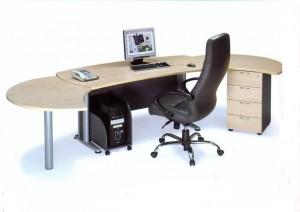 Διευθυντικό γραφείο E-series Executive Set Beech